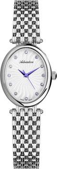 Швейцарские наручные  женские часы Adriatica 3462.51B3Q. Коллекция Zirconia
