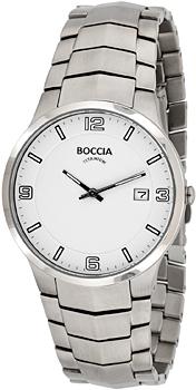 Наручные  мужские часы Boccia 3561-01. Коллекция 3000 Series