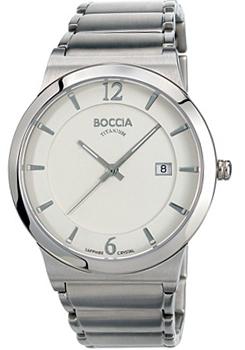 Наручные  мужские часы Boccia 3565-01. Коллекция 3000 Series