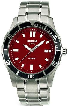Наручные  мужские часы Boccia 3567-02. Коллекция Sport