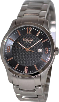 Наручные  мужские часы Boccia 3569-08. Коллекция Outside