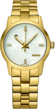 Швейцарские наручные  женские часы Doxa 357.35.057D.11. Коллекция Grafic
