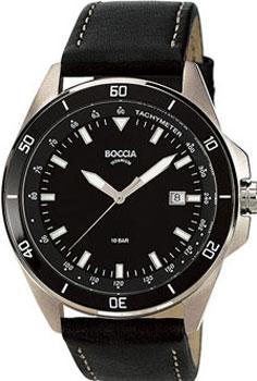 Наручные  мужские часы Boccia 3577-06. Коллекция Titanium