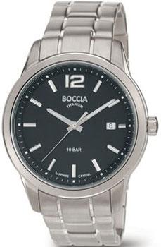 Наручные  мужские часы Boccia 3581-01. Коллекция Titanium