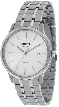 Наручные  мужские часы Boccia 3582-01. Коллекция Titanium