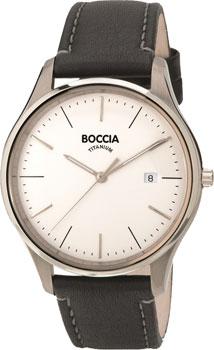 Наручные  мужские часы Boccia 3587-01. Коллекция Titanium