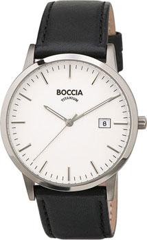 Наручные  мужские часы Boccia 3588-01. Коллекция Titanium
