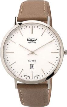 Наручные  мужские часы Boccia 3589-01. Коллекция Royce