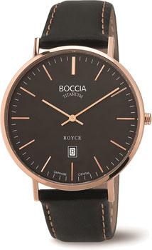 Наручные  мужские часы Boccia 3589-05. Коллекция Royce