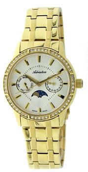 Швейцарские наручные  женские часы Adriatica 3601.1113QFZ. Коллекция Multifunction