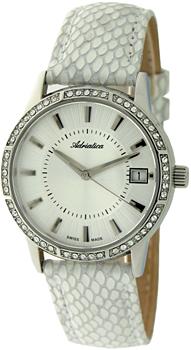 Швейцарские наручные  женские часы Adriatica 3602.5213QZ. Коллекция Zirconia