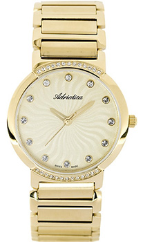 Швейцарские наручные  женские часы Adriatica 3644.1141QZ. Коллекция Ladies