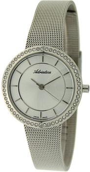 Швейцарские наручные  женские часы Adriatica 3645.5113QZ. Коллекция Zirconia