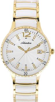 Швейцарские наручные  женские часы Adriatica 3681.D153Q. Коллекция Ceramic