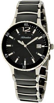 Швейцарские наручные  женские часы Adriatica 3681.E154Q. Коллекция Ceramic