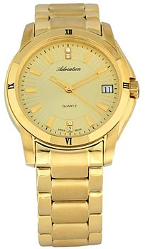 Швейцарские наручные  женские часы Adriatica 3687.1111Q. Коллекция Ladies