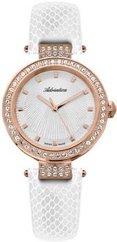 Швейцарские наручные  женские часы Adriatica 3692.9213QZ. Коллекция Zirconia