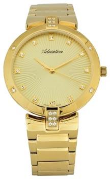 Швейцарские наручные  женские часы Adriatica 3696.1141QZ. Коллекция Automatic