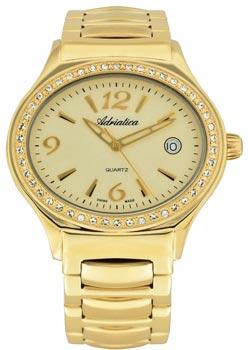 Швейцарские наручные  женские часы Adriatica 3697.1151QZ. Коллекция Ladies