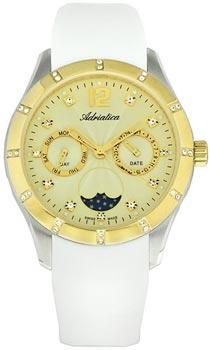 Швейцарские наручные  женские часы Adriatica 3698.2271QFZ. Коллекция Multifunction