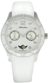 Швейцарские наручные  женские часы Adriatica 3698.5273QFZ. Коллекция Multifunction