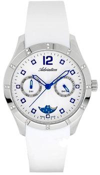 Швейцарские наручные  женские часы Adriatica 3698.52B3QFZ. Коллекция Multifunction