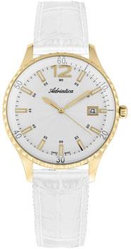 Швейцарские наручные  женские часы Adriatica 3699.1253Q. Коллекция Ladies