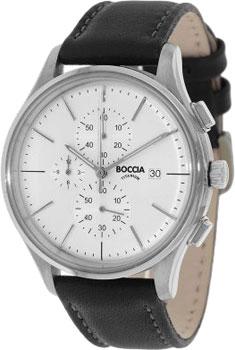 Наручные  мужские часы Boccia 3756-01. Коллекция Titanium