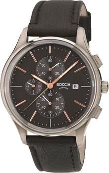 Наручные  мужские часы Boccia 3756-02. Коллекция Titanium