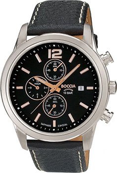 Наручные  мужские часы Boccia 3759-03. Коллекция Ceramic