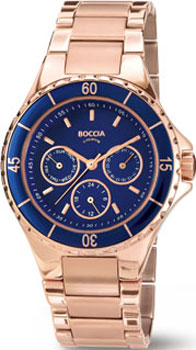 Наручные  мужские часы Boccia 3760-01. Коллекция Titanium