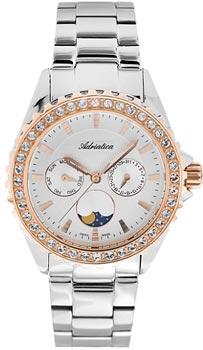 Швейцарские наручные  женские часы Adriatica 3803.R113QFZ. Коллекция Multifunction