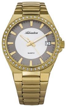 Швейцарские наручные  женские часы Adriatica 3804.1113QZ. Коллекция Ladies