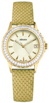 Швейцарские наручные  женские часы Adriatica 3805.1211QZ. Коллекция Zirconia