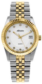 Швейцарские наручные  женские часы Adriatica 3809.2143Q. Коллекция Zirconia
