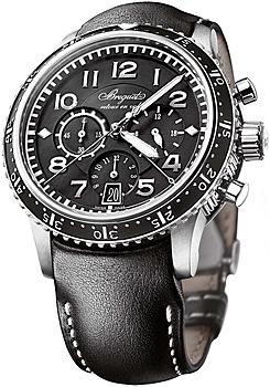 Швейцарские наручные  мужские часы Breguet 3810TI-H2-3ZU