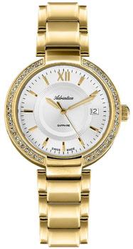 Швейцарские наручные  женские часы Adriatica 3811.1163QZ. Коллекция Zirconia