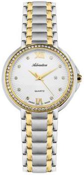 Швейцарские наручные  женские часы Adriatica 3812.2183QZ. Коллекция Zirconia