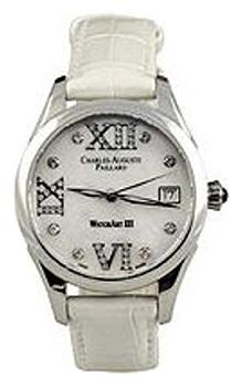 Швейцарские наручные  женские часы Charles Auguste Paillard 400.101.11.13S. Коллекция Watch Art III