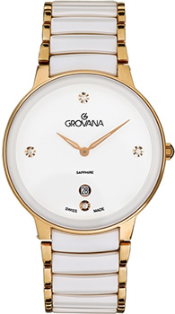 Швейцарские наручные  женские часы Grovana 4020.1153. Коллекция Sporty