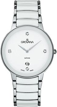 Швейцарские наручные  женские часы Grovana 4020.1183. Коллекция Traditional