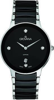 Швейцарские наручные  женские часы Grovana 4020.1187. Коллекция Traditional