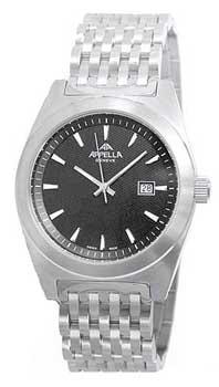 Швейцарские наручные  мужские часы Appella 4111-3004. Коллекция Classic