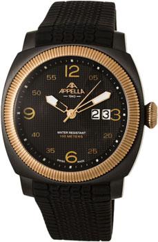 Швейцарские наручные  мужские часы Appella 4193-8014. Коллекция Dress watches