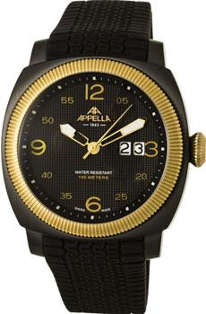 Швейцарские наручные  мужские часы Appella 4193-9014. Коллекция Dress watches