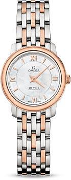 Швейцарские наручные  женские часы Omega 424.20.24.60.05.002