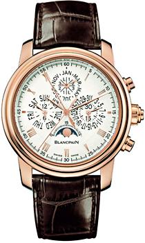 Швейцарские наручные  мужские часы Blancpain 4286P-3642A-55B