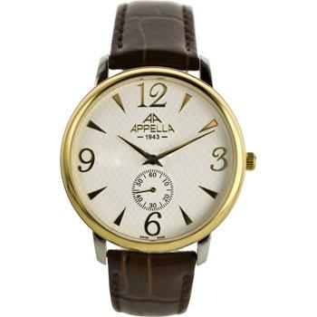 Швейцарские наручные  мужские часы Appella 4307-2011. Коллекция Classic