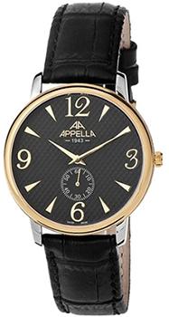 Швейцарские наручные  мужские часы Appella 4307-2014. Коллекция Classic