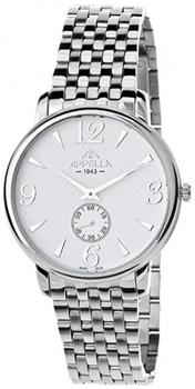 Швейцарские наручные  мужские часы Appella 4307-3001. Коллекция Classic